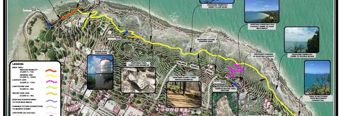 Conceptual Design - Flagstaff Hill walking trail - slider