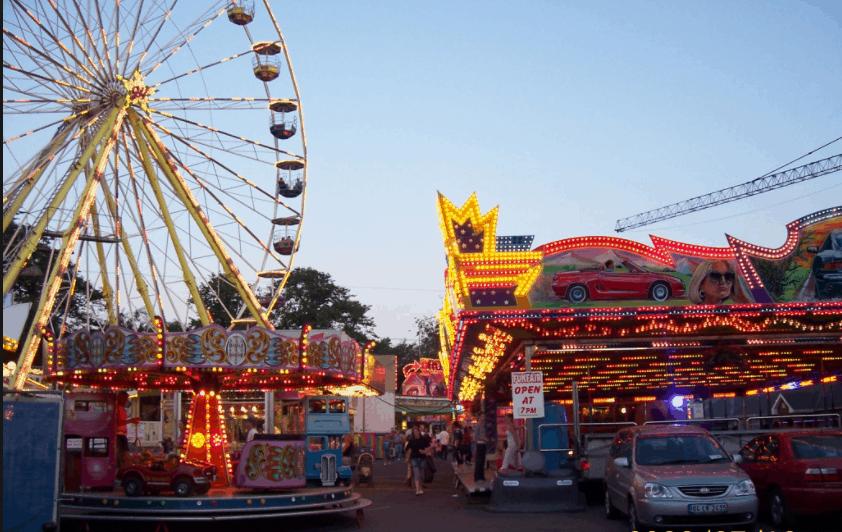 Mossman Show rides at the Mossman Showgrounds