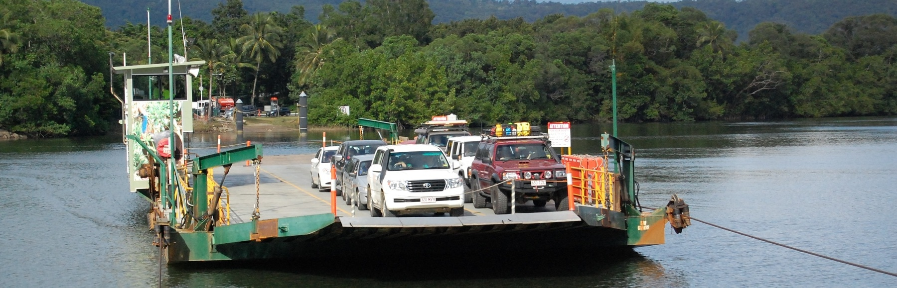 Interest for Daintree Ferry contract rolling in