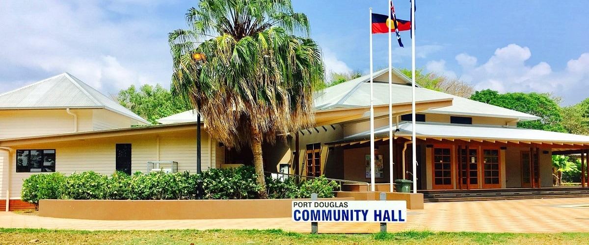 Port douglas community hall
