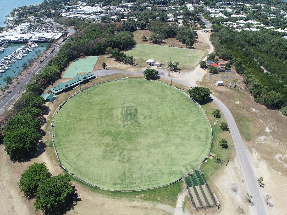 Port Douglas Sports Complex aerial