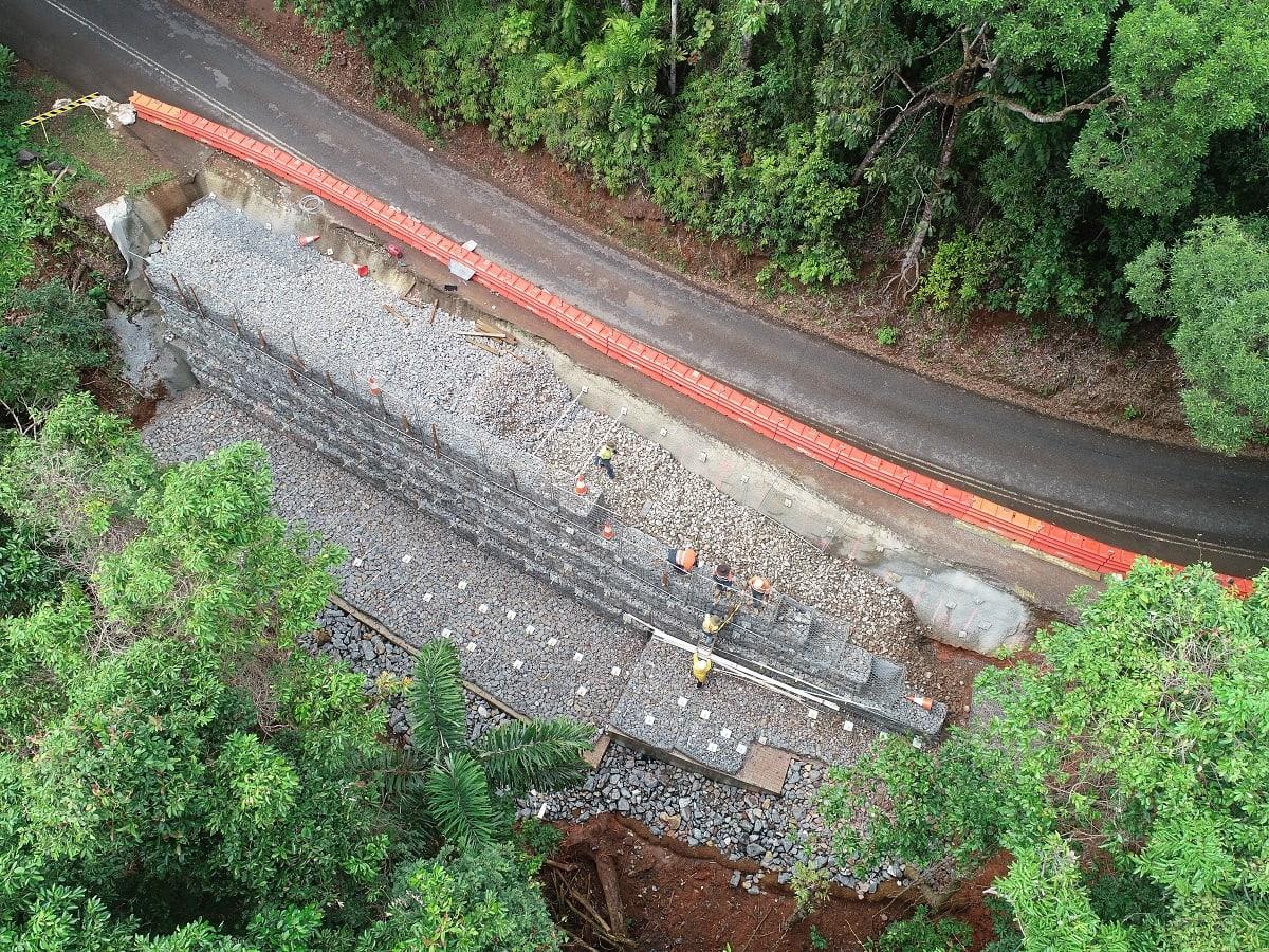 UPDATE: Cape Tribulation Rd repairs at Alexandra Range