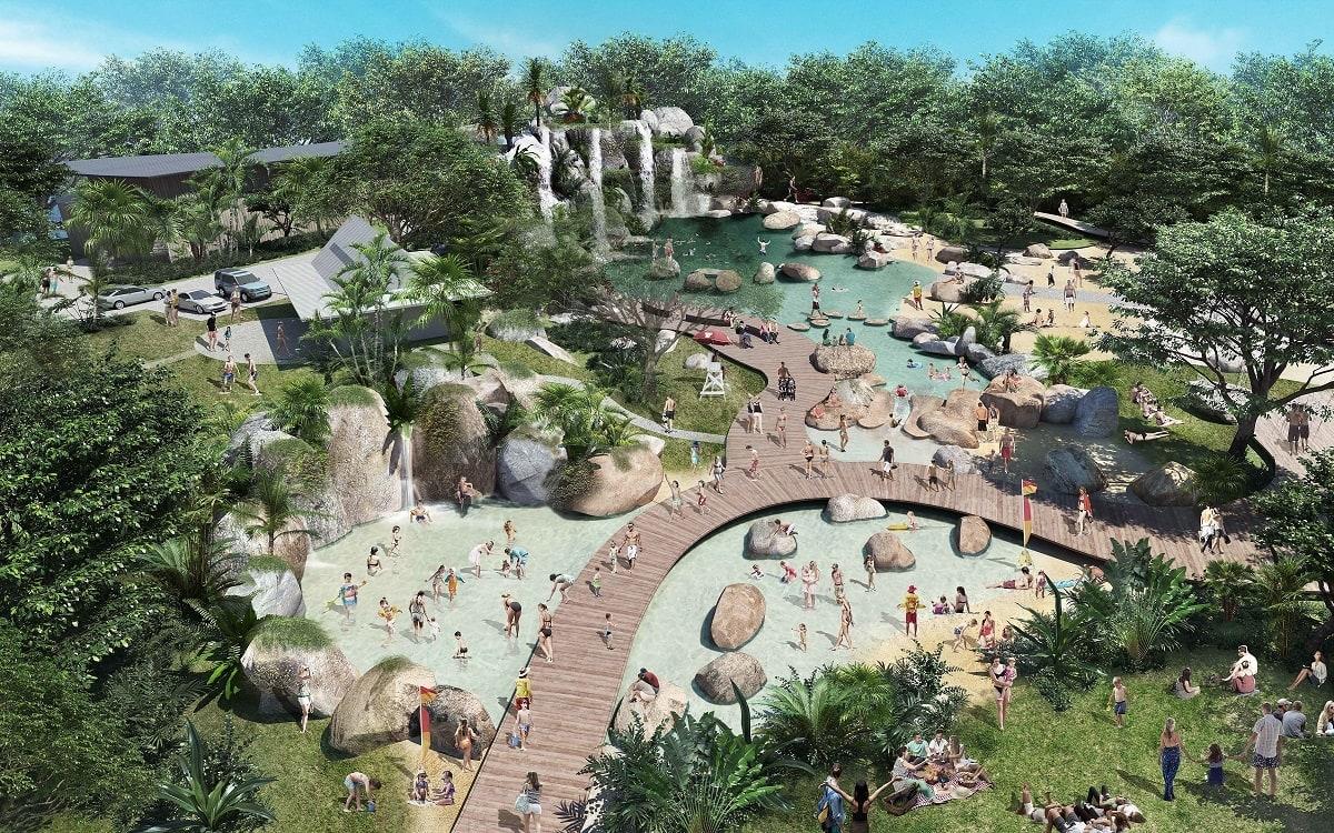 Lagoon vision for Port Douglas