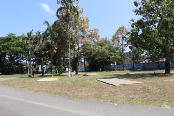 Mossman Caravan Park - powered camp site