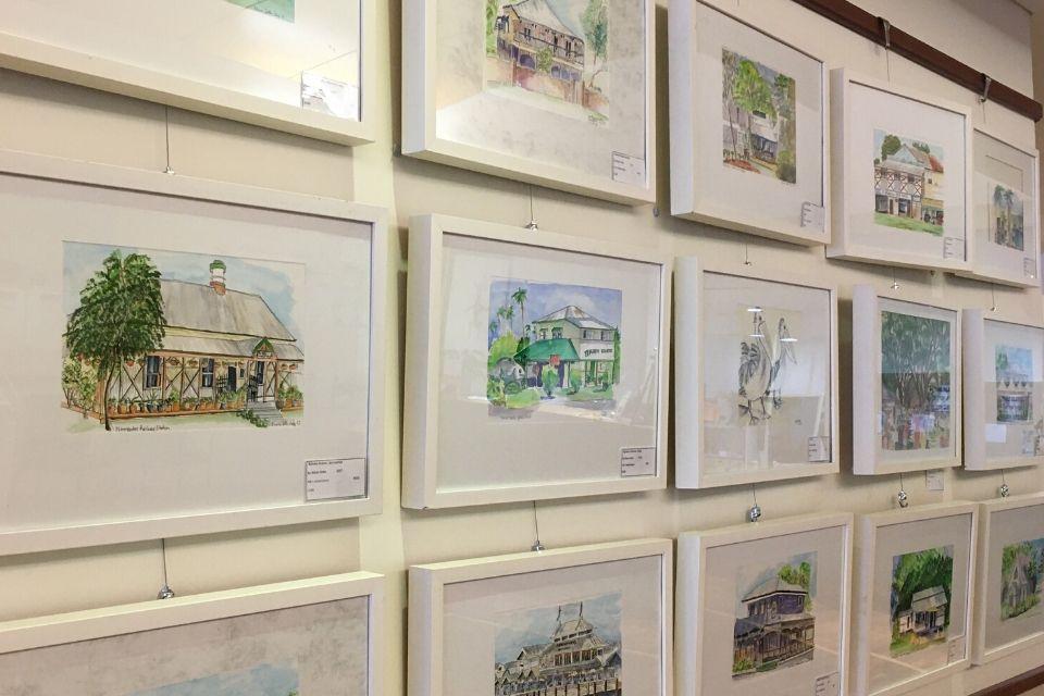 Alison Gotts retrospective exhibition now at Council