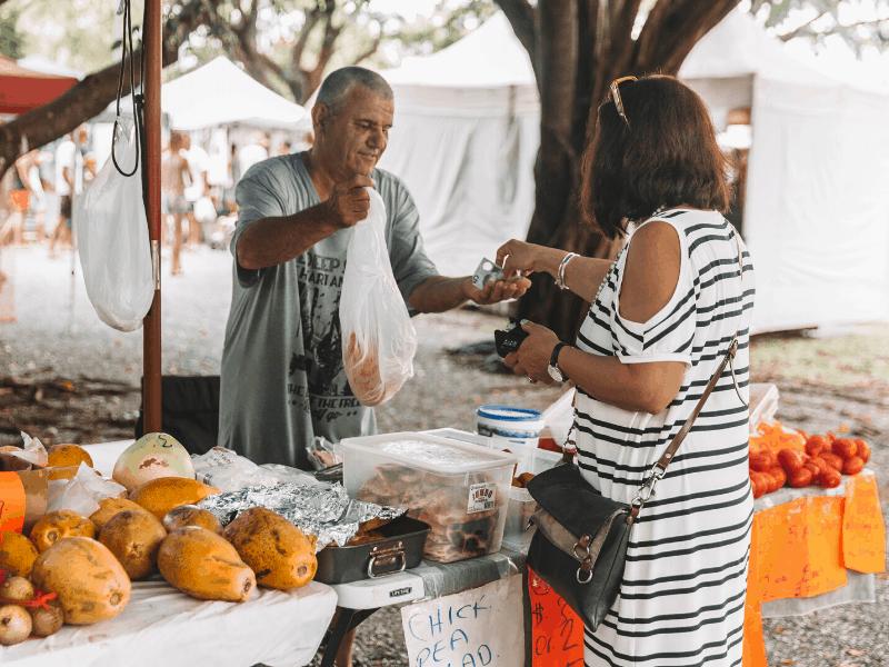 Port Douglas Markets Market Park