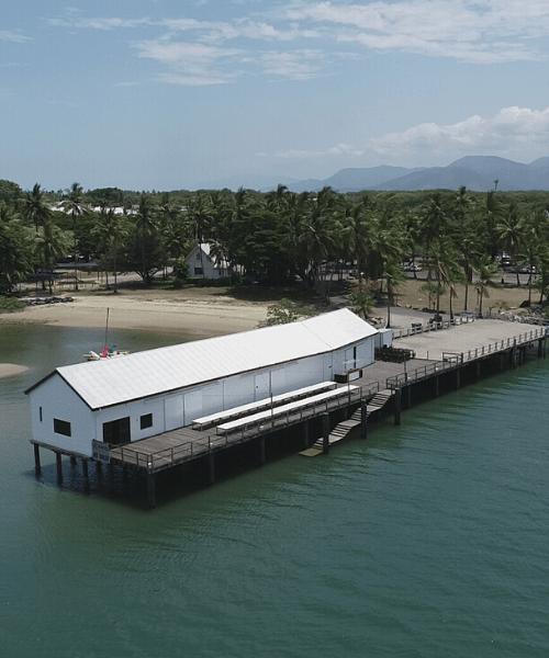 Sugar Wharf Aerial