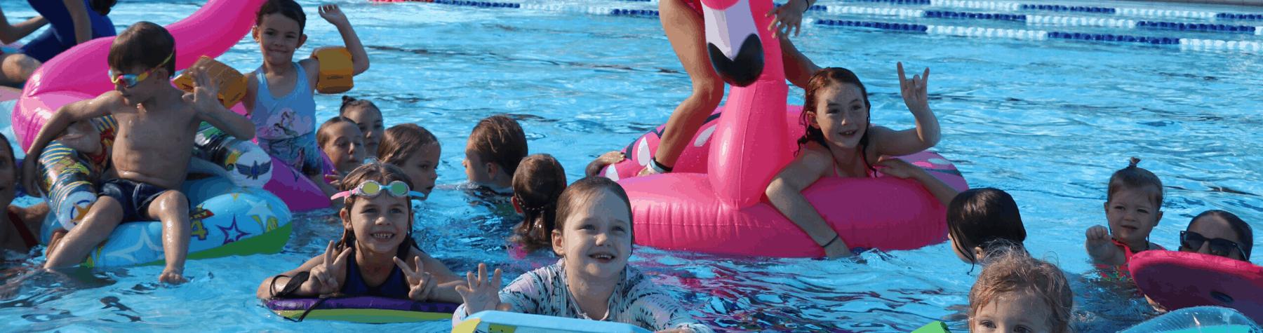 Pool cinema hits Mossman for School Holidays
