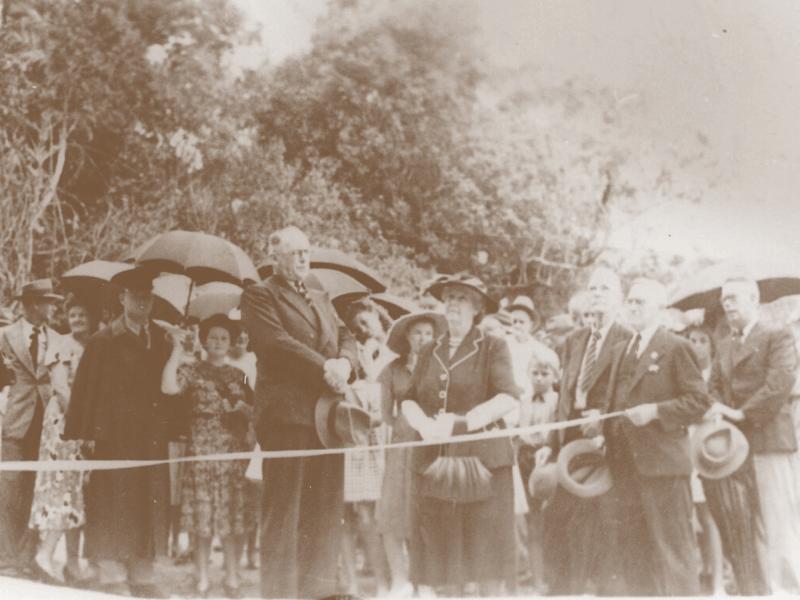 Opening ceremony Rex Range 1949