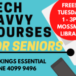 Home page Ad - Tech Savvy Courses for Seniors