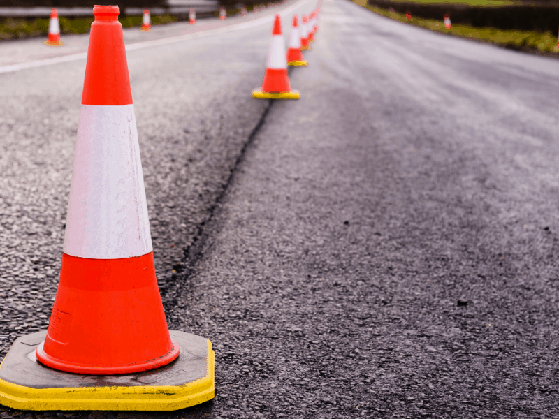 Road Works At Killaloe Dump Road and Captain Cook Highway intersection