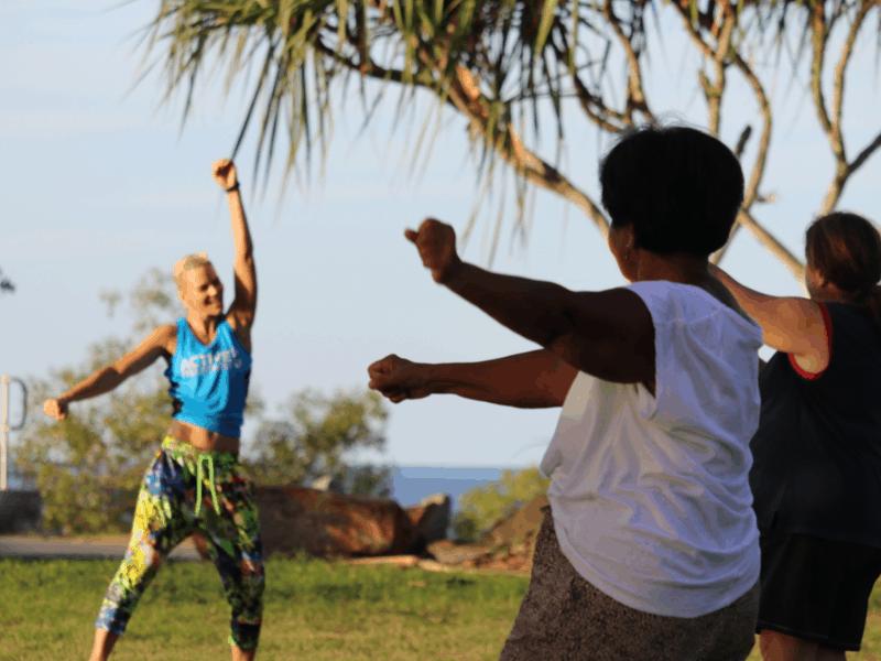 Zumba active8 free fitness program