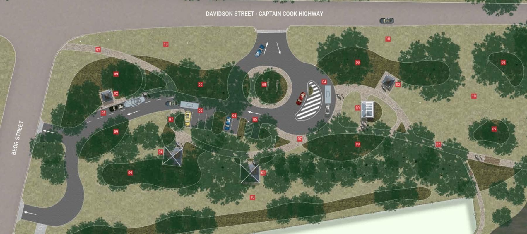 Teamsters Park Masterplan