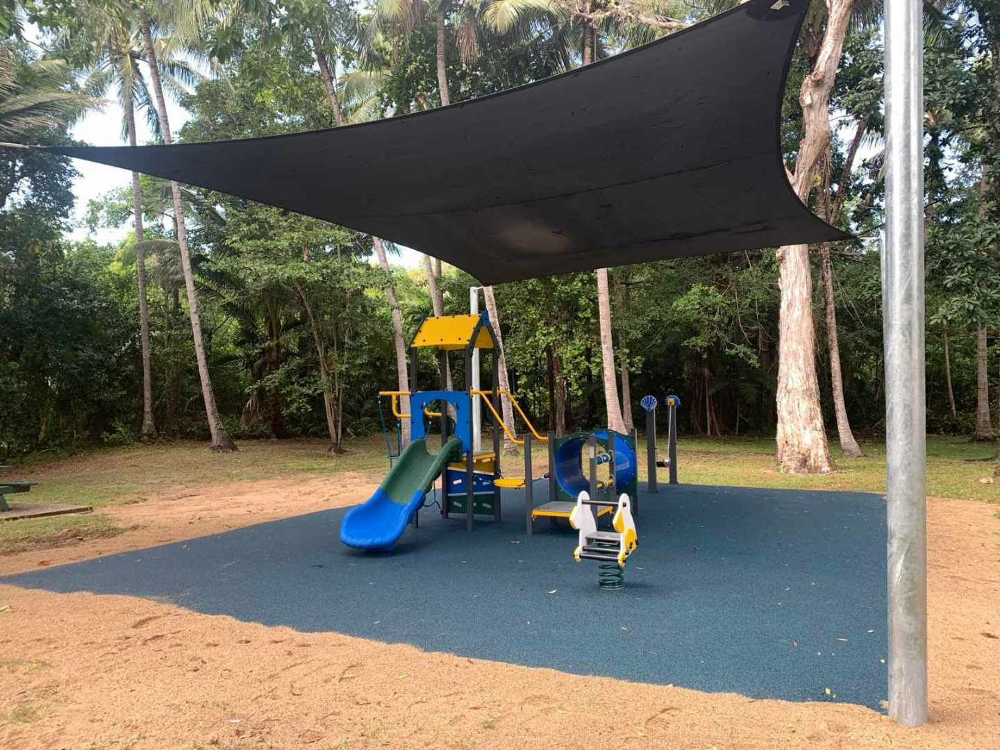 New playground at Bruno Riedwig Park in Port Douglas