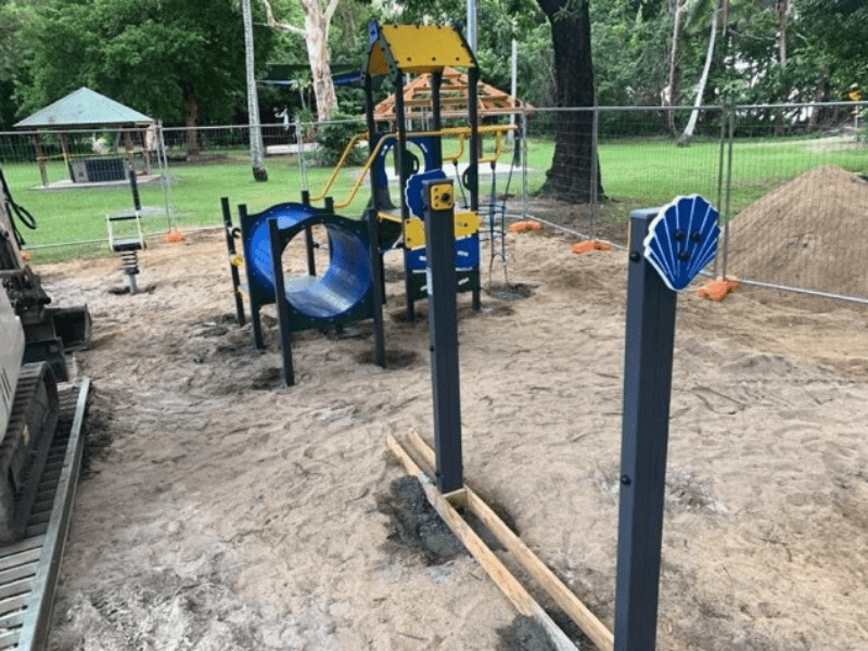 Playground progress
