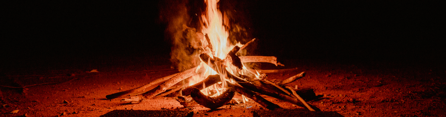 Backyard fires in residential areas