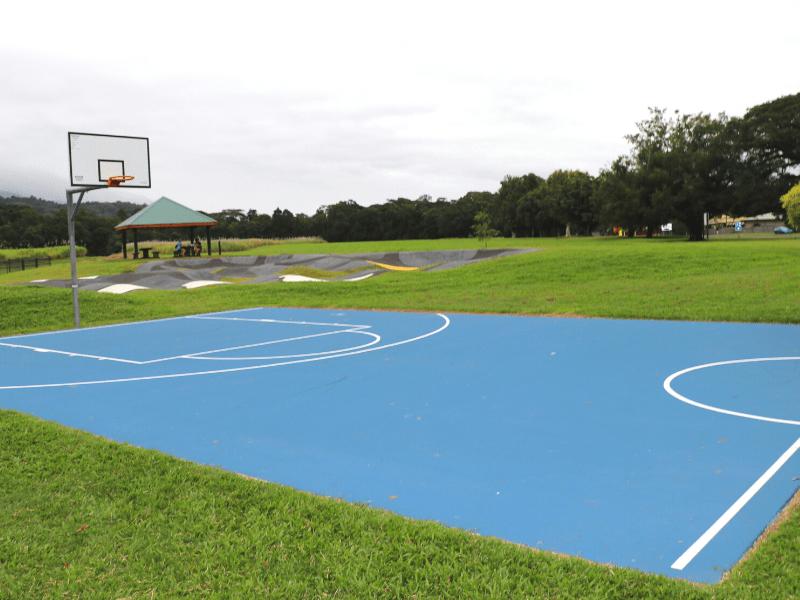 Basketball Court at George Davis park