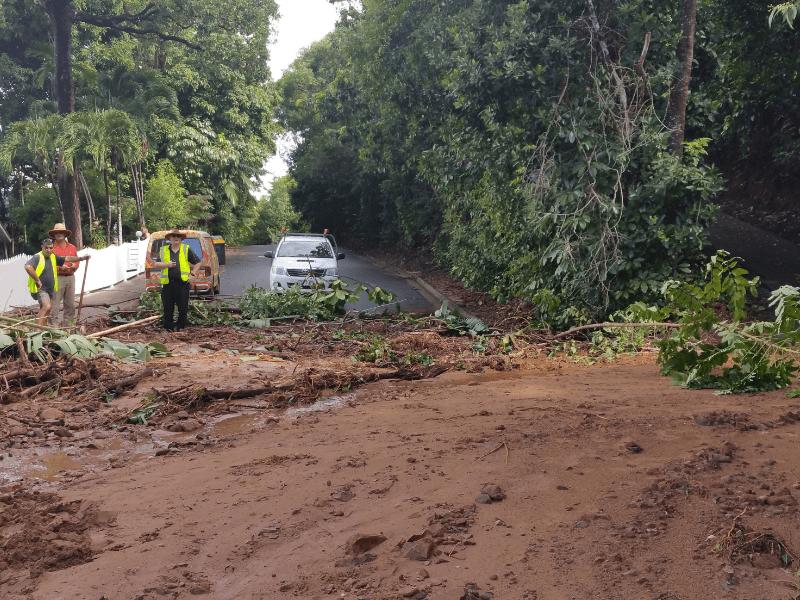 Murphy Street damage in 2018