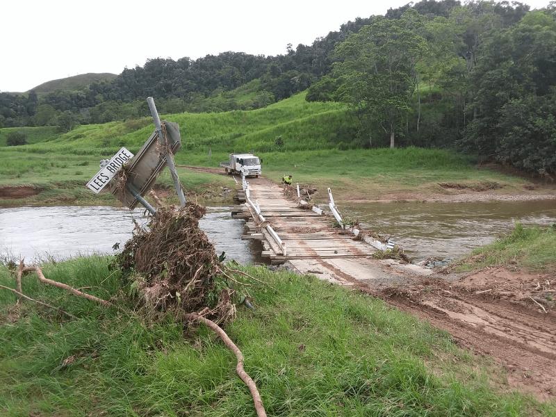 Monsoonal trough 2019 - Stewart Creek Valley