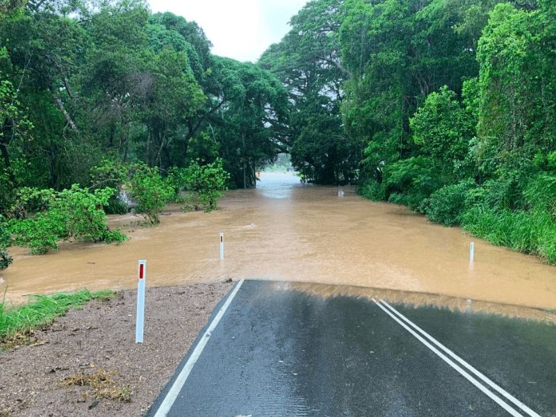 Flooding in the Mowbray Valley