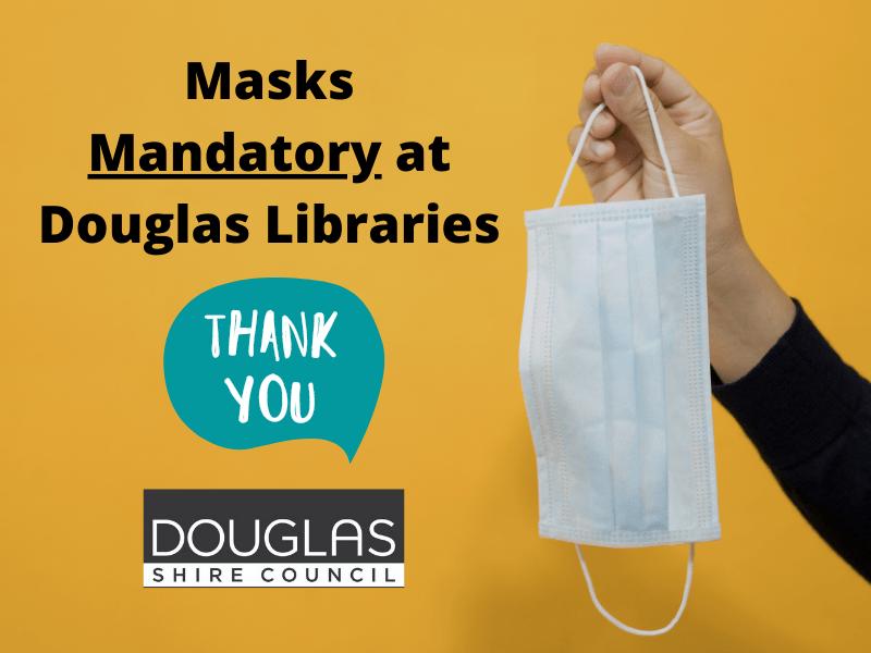 STOCK - Masks at Douglas Libraries