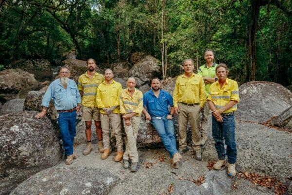 Water Reticulation Team at Rex Creek Intake