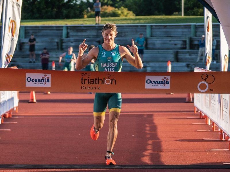 Triathlon Australia Matthew Hauser