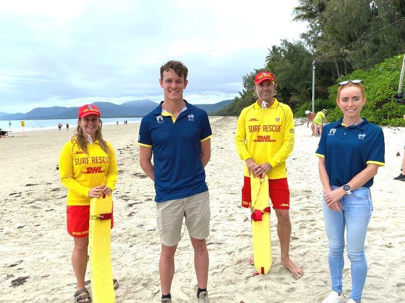 Triathlon Australia at Four Mile Beach