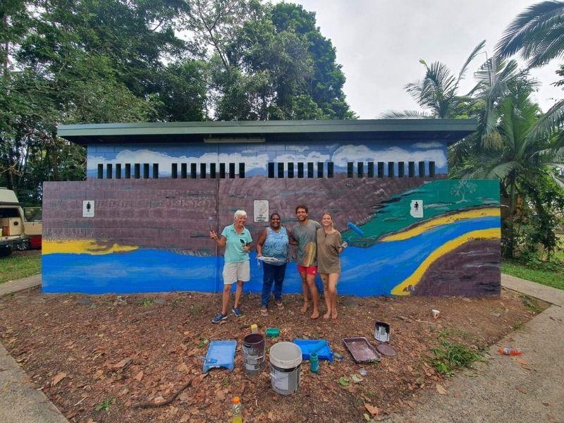 Daintree toilet block - major grants